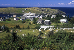 Looking Down from a Hillside on Monhegan Island