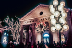 Quincy Market Decorated for Christmas