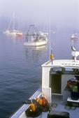 Lobster Boat Docked at Five Islands