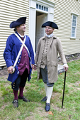 Two Colonial Reenactors At Minuteman National Park