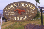 Sign for Cook's Lobster House