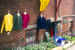 Clothes Hanging in Damariscotta Maine