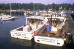Two Lobster Boats Docked In Southport
