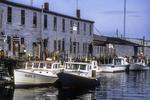 Lobster Boats Docked In Portland Maine