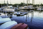 Overturned Rowboats at Camden Harbor