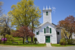 Springtime in Ashfield, Massachusetts - St. John's Episcopal Church
