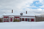 Snow and An Old New England Farmhouse