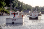 Lobster Boats Moored in New Harbor