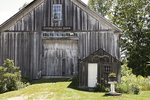 Old Weathered Barn in Massachusetts