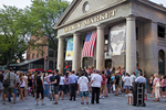 Quincy Market On A Warm Summer Evening