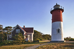 Nauset Light and the Keeper's House,