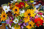 Flowers at Hatch's Market in Wellfleet