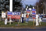 Campaigners for Mitt Romney in 1994 senate campaign