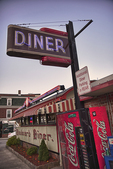 Boulevard Diner on Shrewsbury Street in Worcester, MA