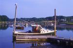 Fishing boat docked in Ogunquit, Maine.