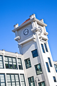 The clock tower at the old Stillwater Mill was restored and is now known as the Clocktower Apartments