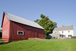 Old New England farm