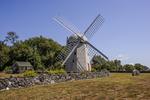 Historic mill in Jamestown, Rhode Island