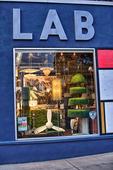 Lighting store on Shrewsbury Street, Worcester, MA