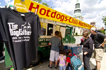 The Dogfather hot dog truck in Worcester, MA