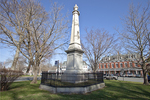 War memorial on the Grafton, MA town common