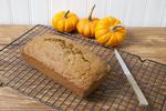 Pumpkin bread ready to eat