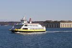 Casco Bay Lines Ferry in Casco Bay, Portland, ME
