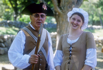 Two colonial interpreters at the Hartwell Tavern in Concord, MA