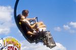 Flying through the air at the fair