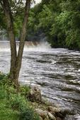 Waterfall on the Ashuelot River in Ashuelot, NH
