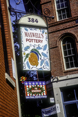 Maxwell's Pottery in the Old Port, Portland, ME
