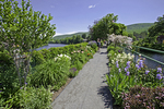The Bridge of Flowers in Shelburne Falls, MA