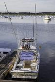 Charter boat in Wellfleet Harbor