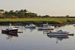Pamet Harbor, Cape Cod at sunset