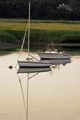 Two boats in Pamet Harbor, Cape Cod