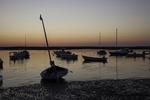 Pamet Harbor in Truro at sunset