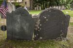 Gravestones near the Emerson Wilcox House in York, Maine
