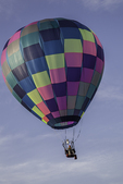 Balloon with one passenger