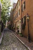 Acorn Street in Boston, MA