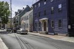 Quiet street in Porstmouth, NH