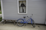 Bicycle outside a building at Strawberry, Banke