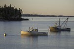 Late afternoon at Lubec Maine Harbor