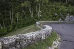 The road atop the Goodnough Dike, Quabbin Reservoir