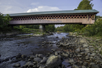 The Thompson Bridge over the Ashuelot River in New Hampshire