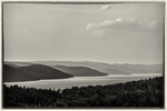 View from the Enfield Lookout at the Quabbin Reservoir