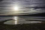 Late afternoon sun at the Quabbin Reservoir