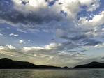Clouds over the Quabbin Reservoir