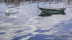 Boat in Portsmouth Harbor