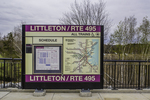 Sign at the Littleton MBTA station