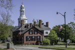 Wright's Tavern in the center of Concord, MA - an Historic National Landmark